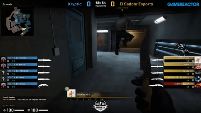 OMEN by HP Liga - Kryptik VS El Sadoor Esports di Overpass.