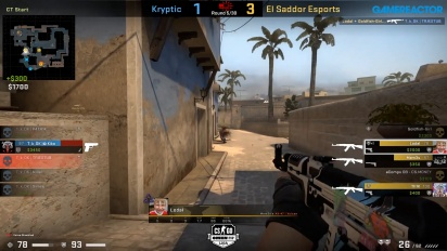 OMEN by HP Liga - Kryptik VS El Sadoor Esports di Mirage.